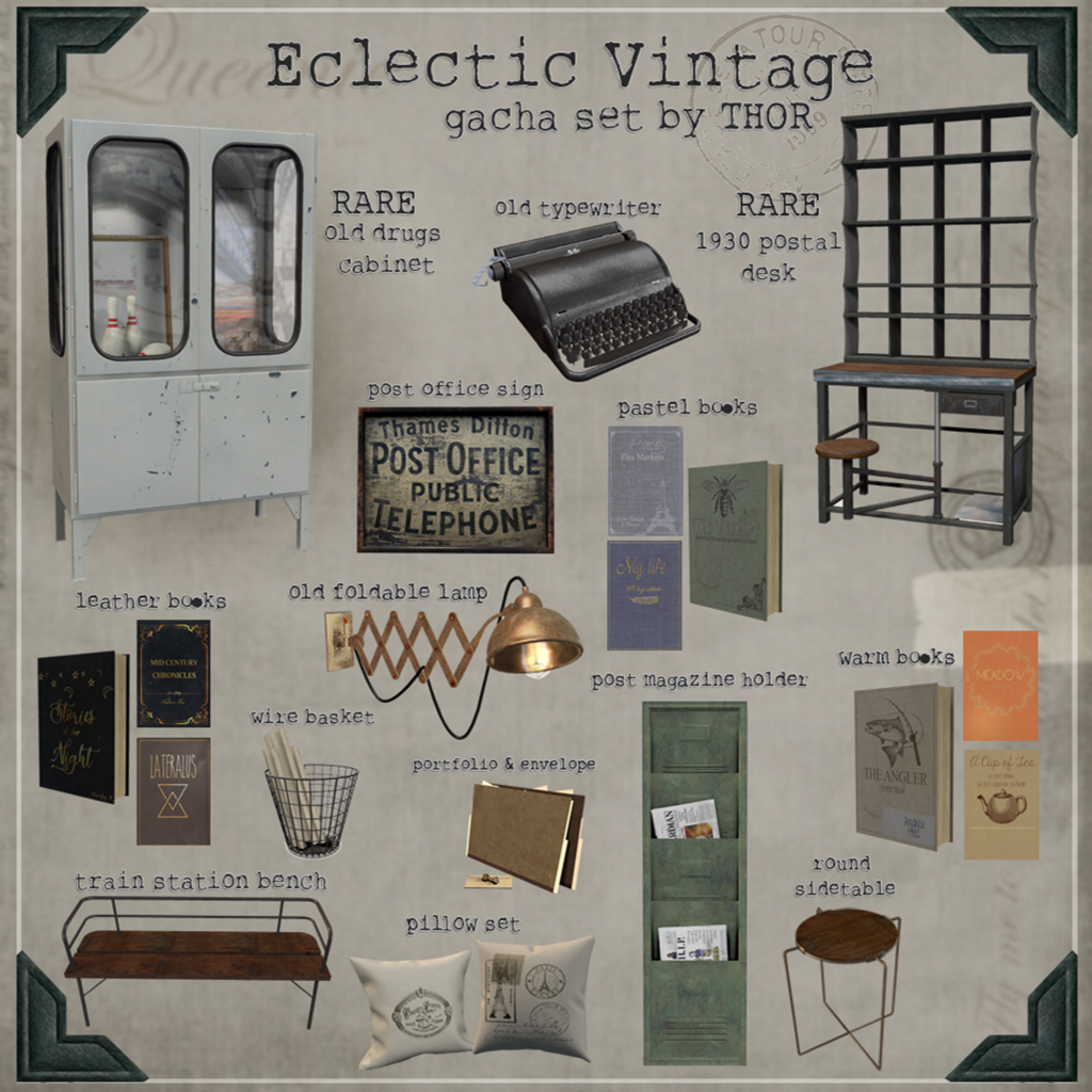 THOR - Eclectic Vintage Key - Epiphany October Round.png