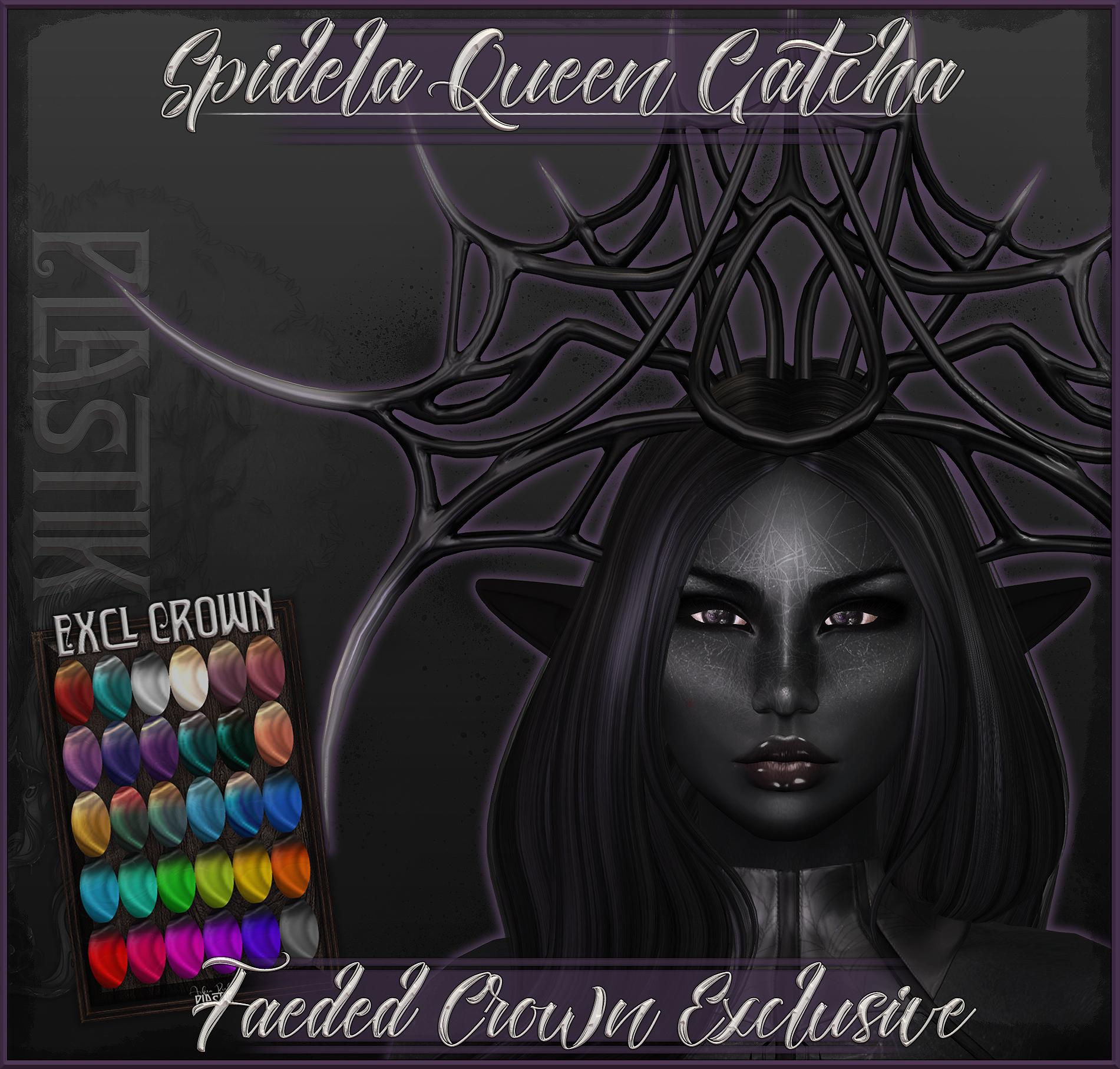 Spidela Queen - Exclusive Faeded Crown.jpg