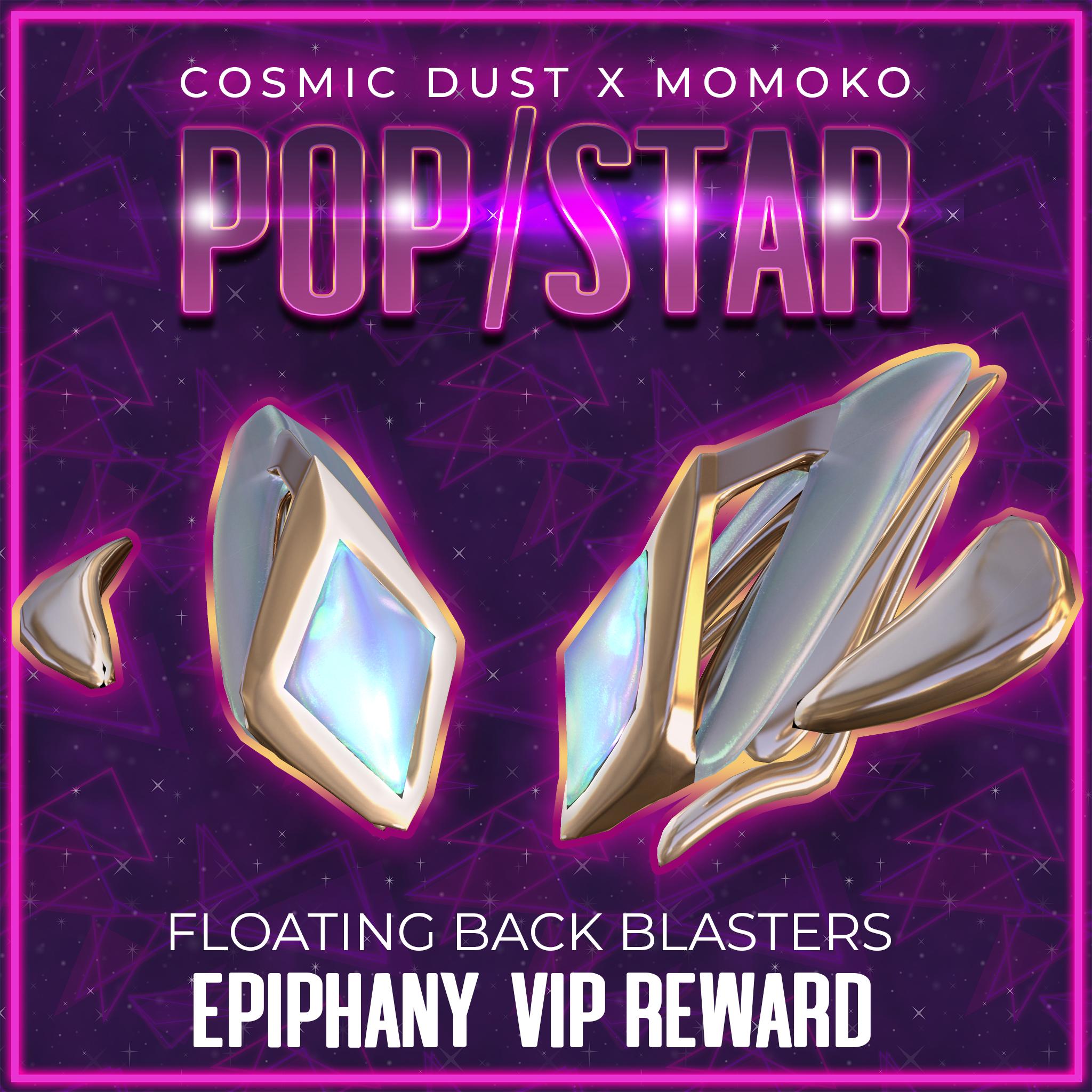 Cosmic Dust x Momoko - VIPREWARD.png