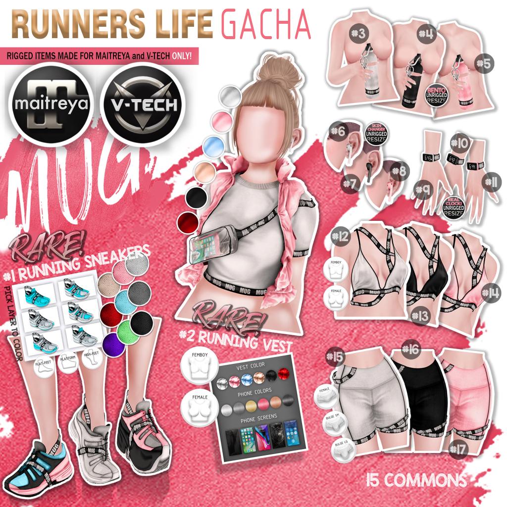 Mug - Runners Life Gacha Key.png