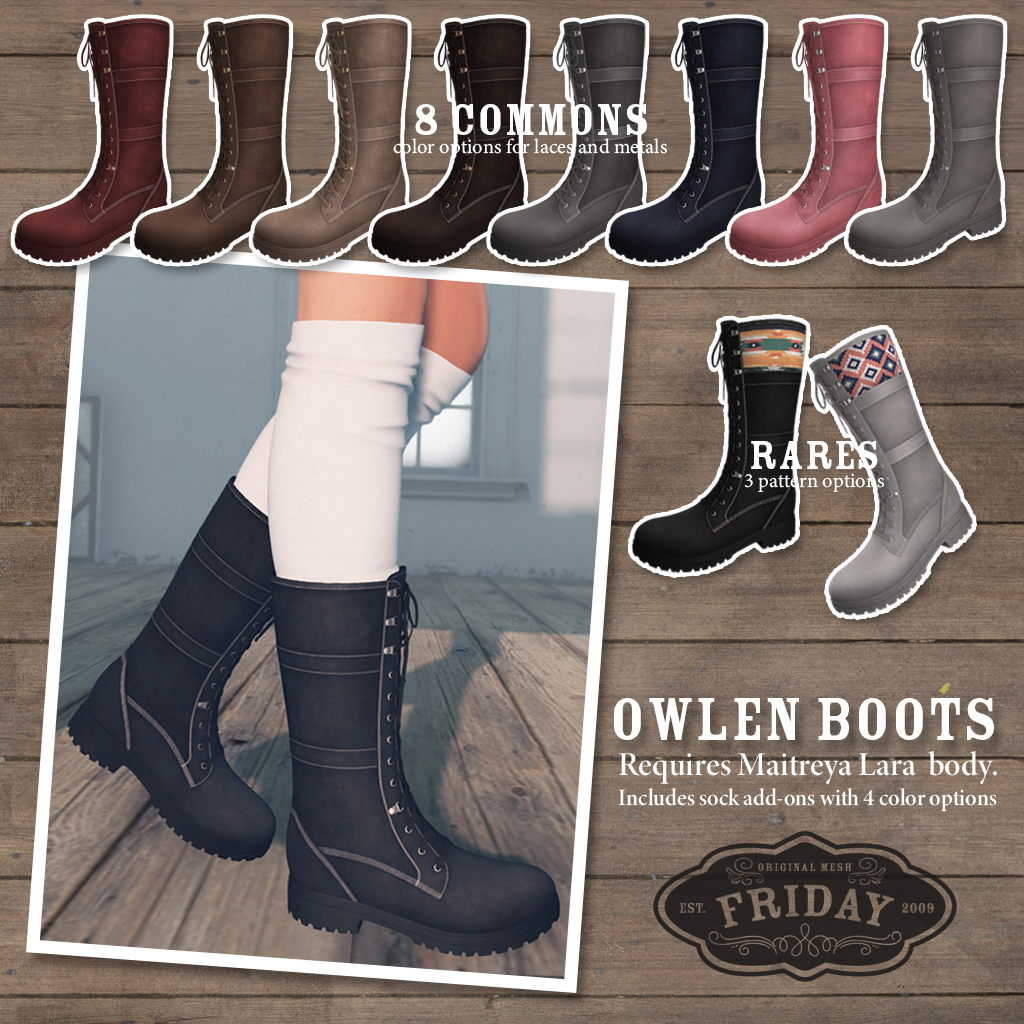 friday - Olwen Boots Key.png