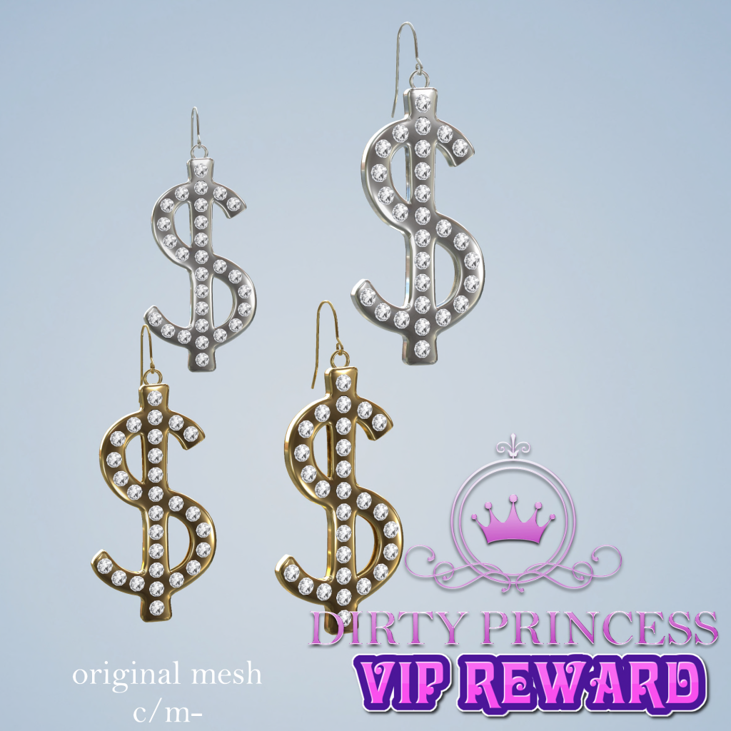 Dirty Princess- Spoiled Life Princess vip reward.png