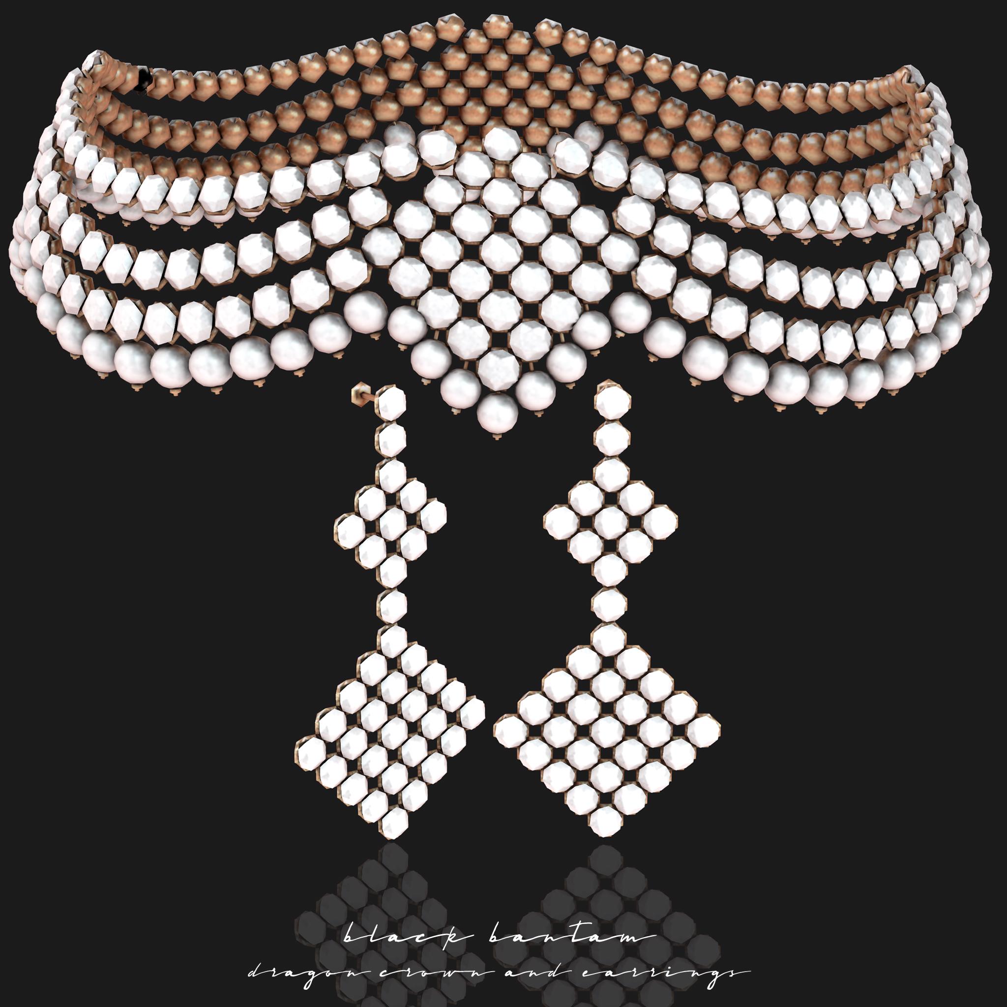 [Black Bantam] Dragon Queen Crown & Earrings Exclusive Promo Photo.jpg