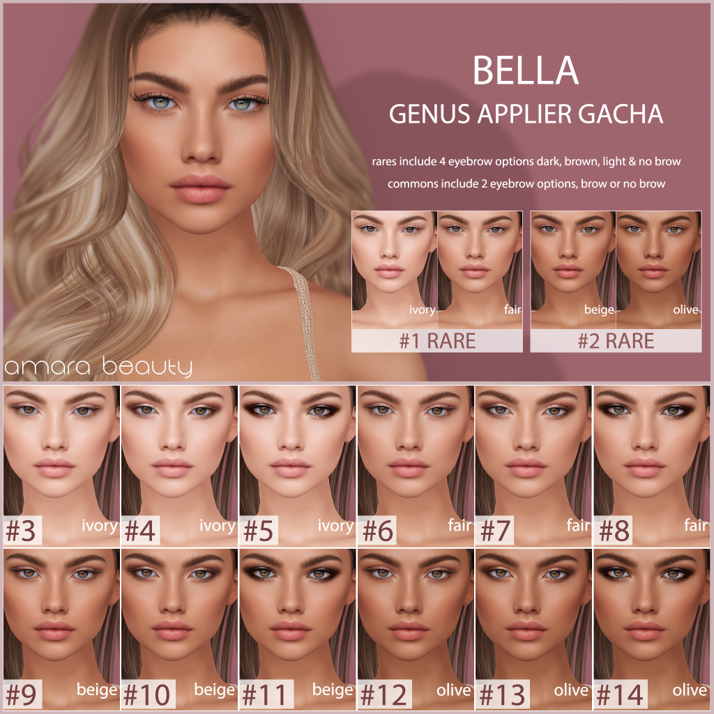 amara beauty - Bella gacha key.png