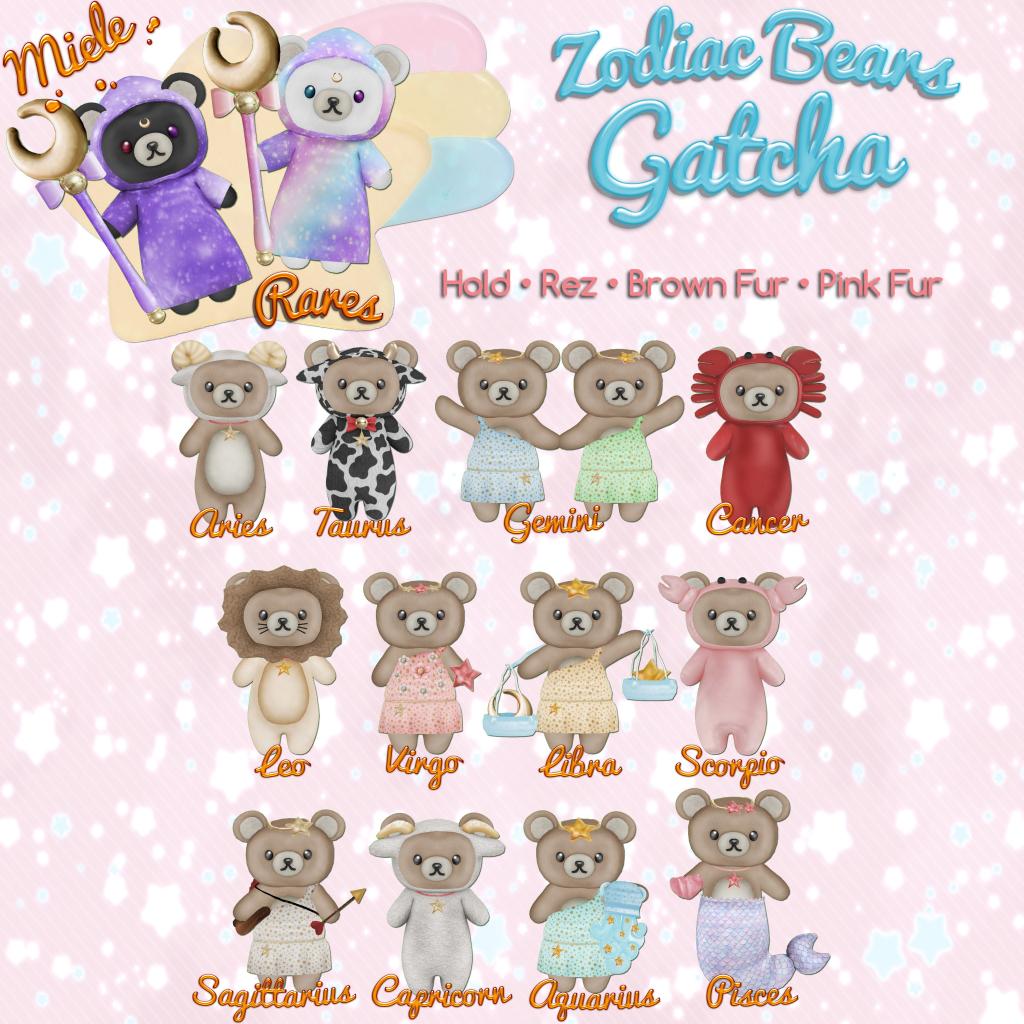 ~Miele~ Zodiac Bears Gatcha Key.png