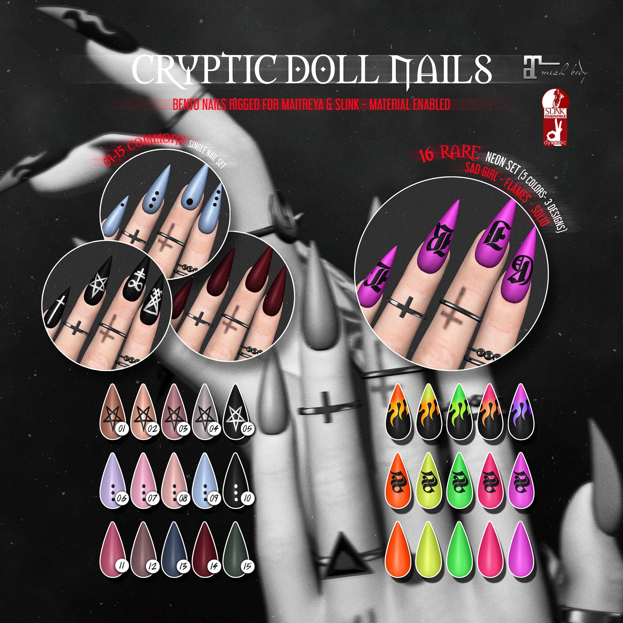 [ Conviction ] Cryptic Doll Nails - Gacha Key.jpg