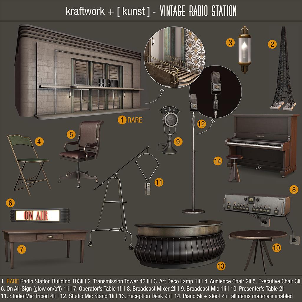 KraftWork + [ kunst ] Vintage Radio Station Gacha 1024.png