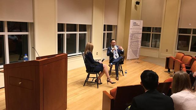 Very grateful to have been joined by Dr. Redonda Miller, President of Johns Hopkins Hospital, and Dr. Perry Tsai, @amsanational President, at @jhu.osler's inaugural Spring 2019 event: Reimagining Healthcare for the 21st Century!