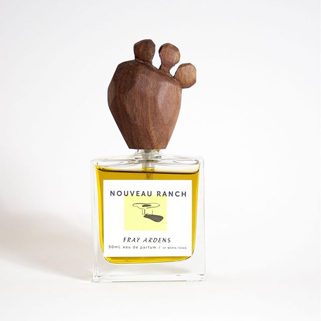 From our signature line, Mythopoesis; Nouveau Ranch has notes of high desert attar, intuited eyelash grassy nopal, sacred wood, and fragile flowers