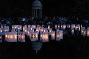 Lantern lighting festival at Spring Grove Cemetery and Arboretum; Credit: Mark Dumont