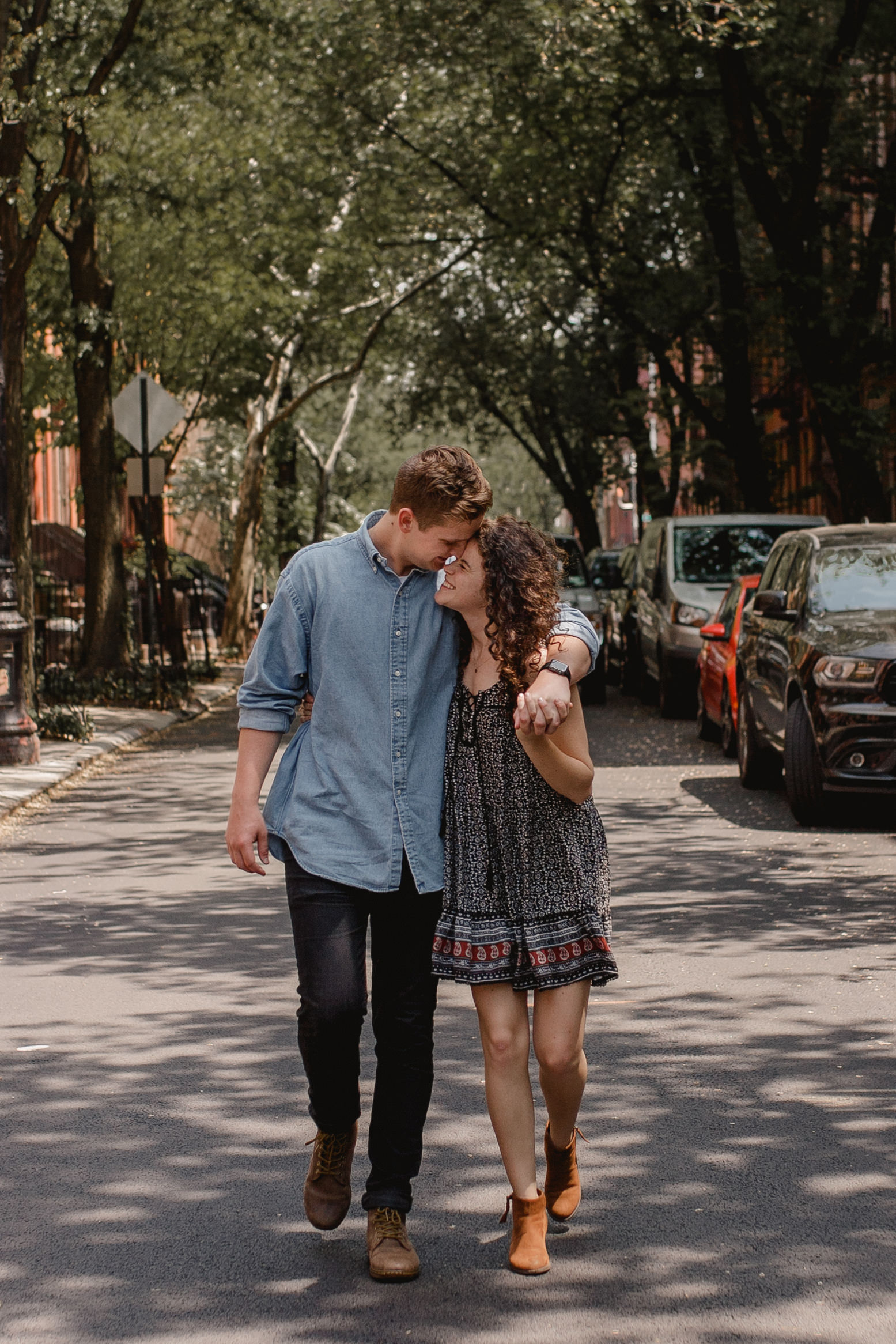 Central Park New York City Engagement Adventure Session Between the Pine Photography