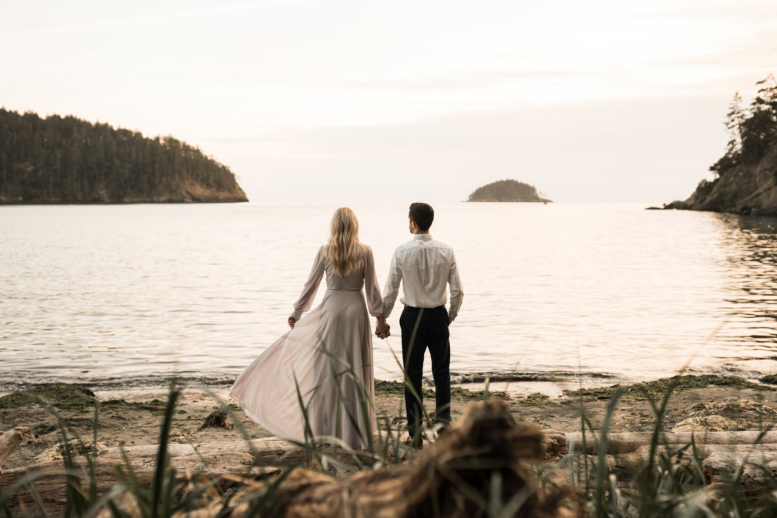Deception Pass Engagement Session | Between the Pine Adventure Elopement Photography