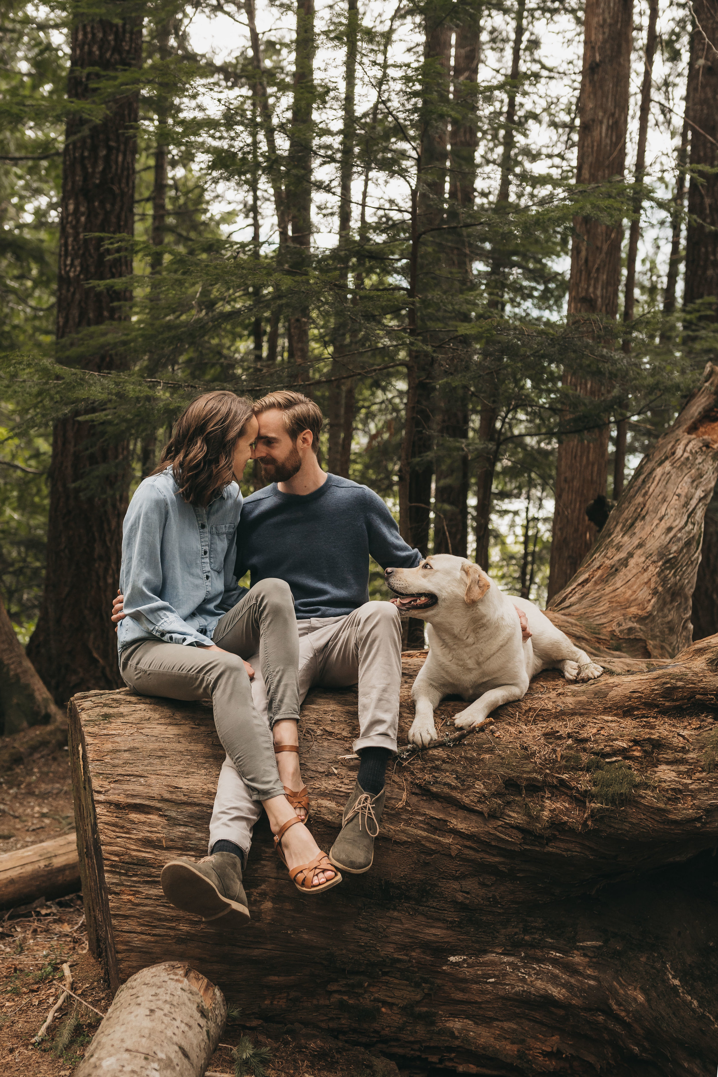 North Cascades Engagement Session | Between the Pine Adventure Elopement Photography