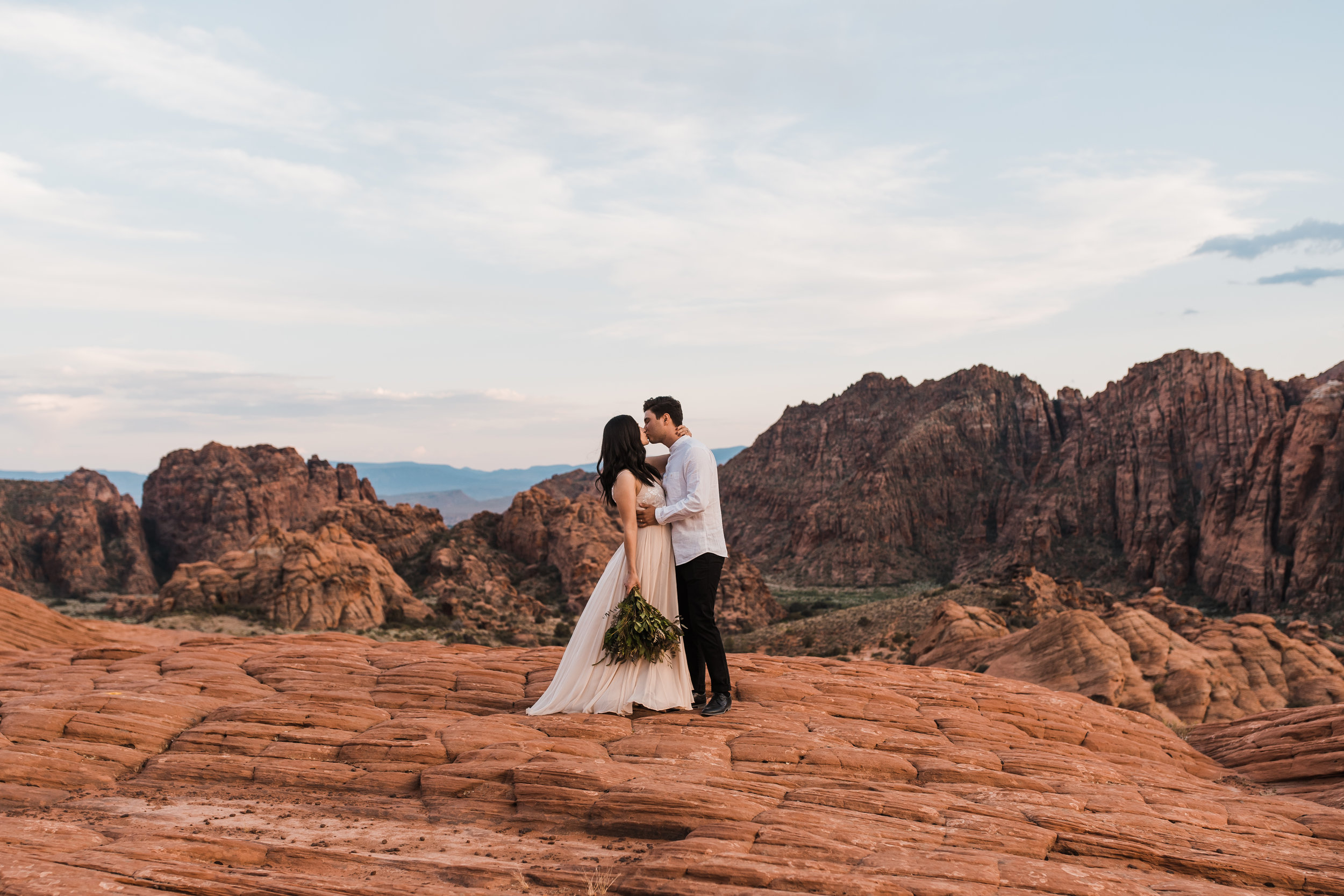 Snow Canyon State Park Elopement | Between the Pine Adventure Elopement Photography