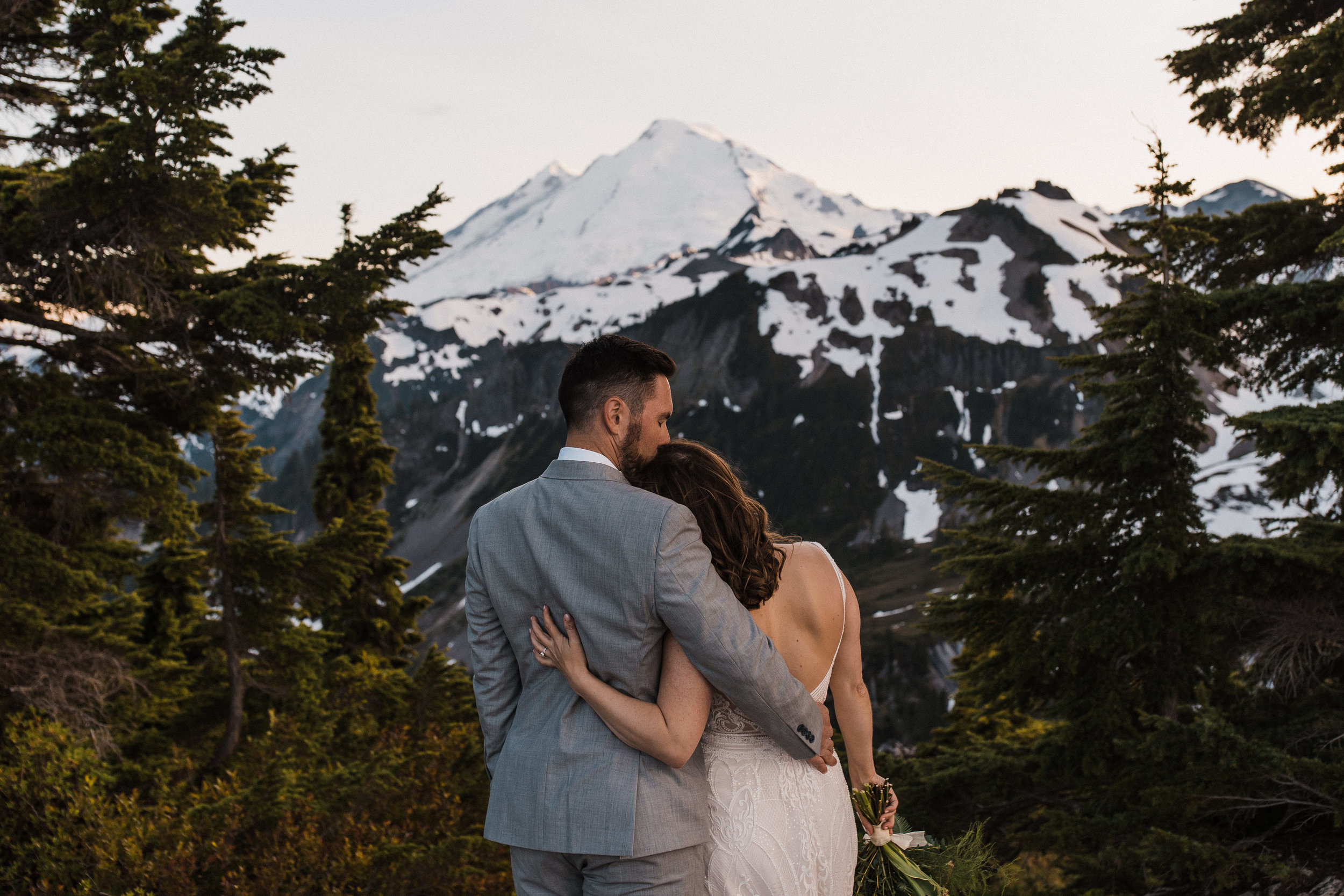 Mountain Wedding Day After Session | Between the Pine Adventure Elopement Photography