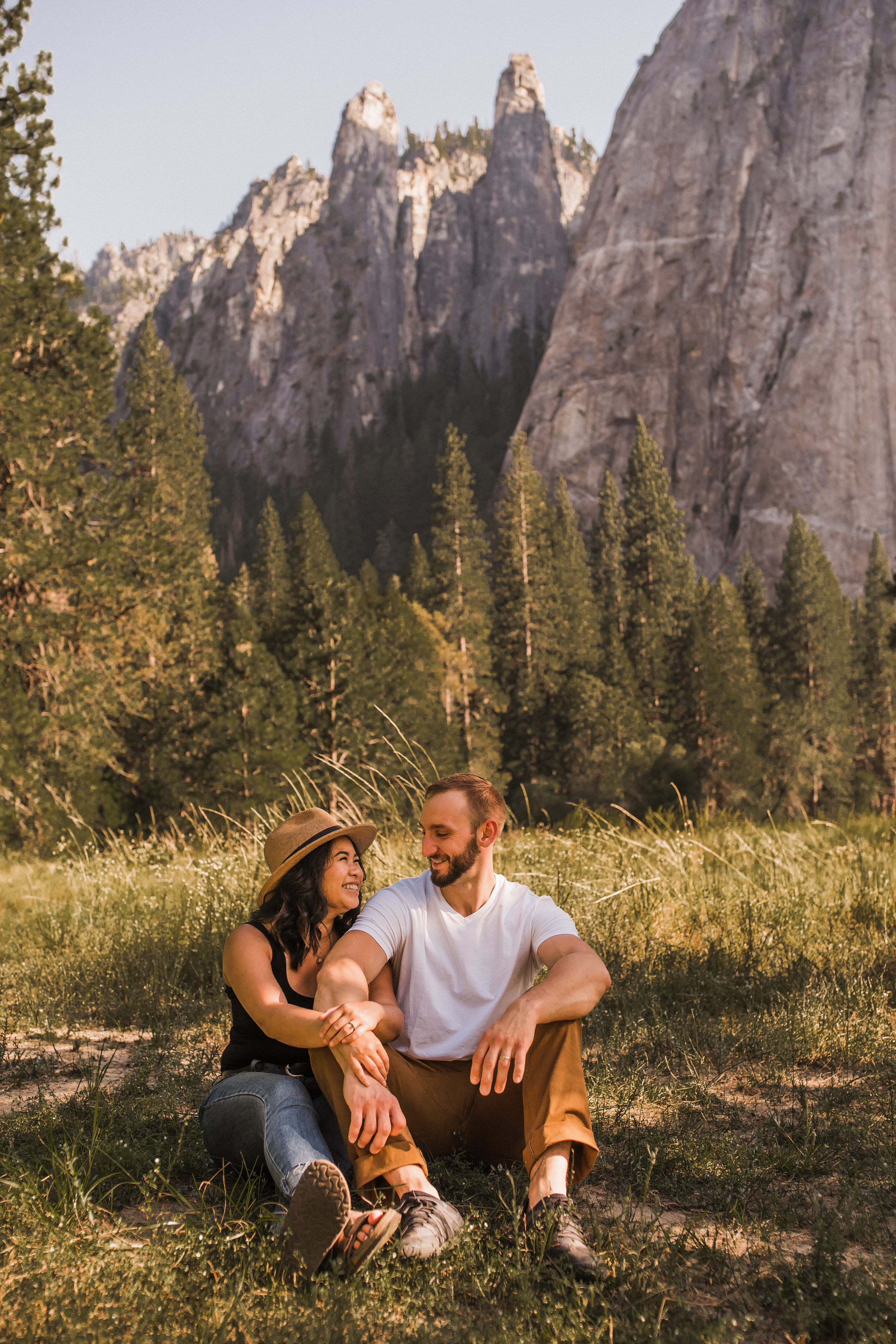 Yosemite Adventure Session | Between the Pine Adventure Elopement Photography -23.jpg