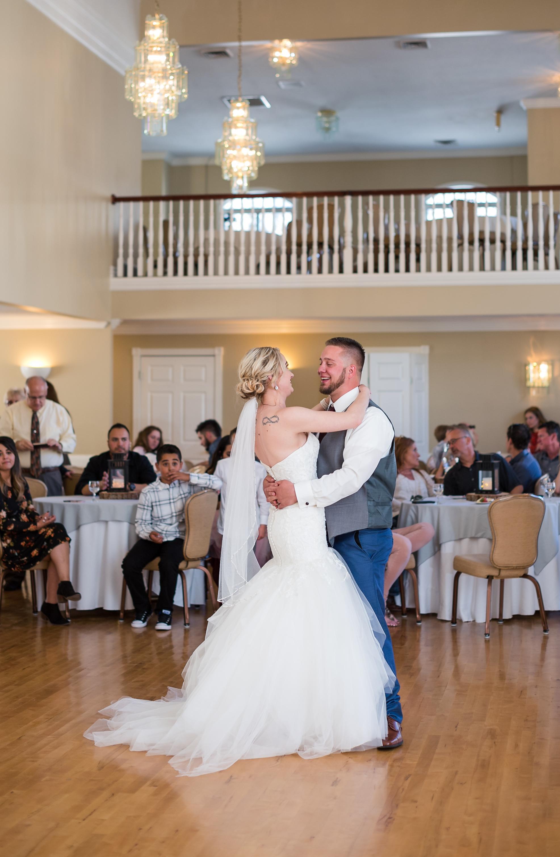 First dance, so in love.