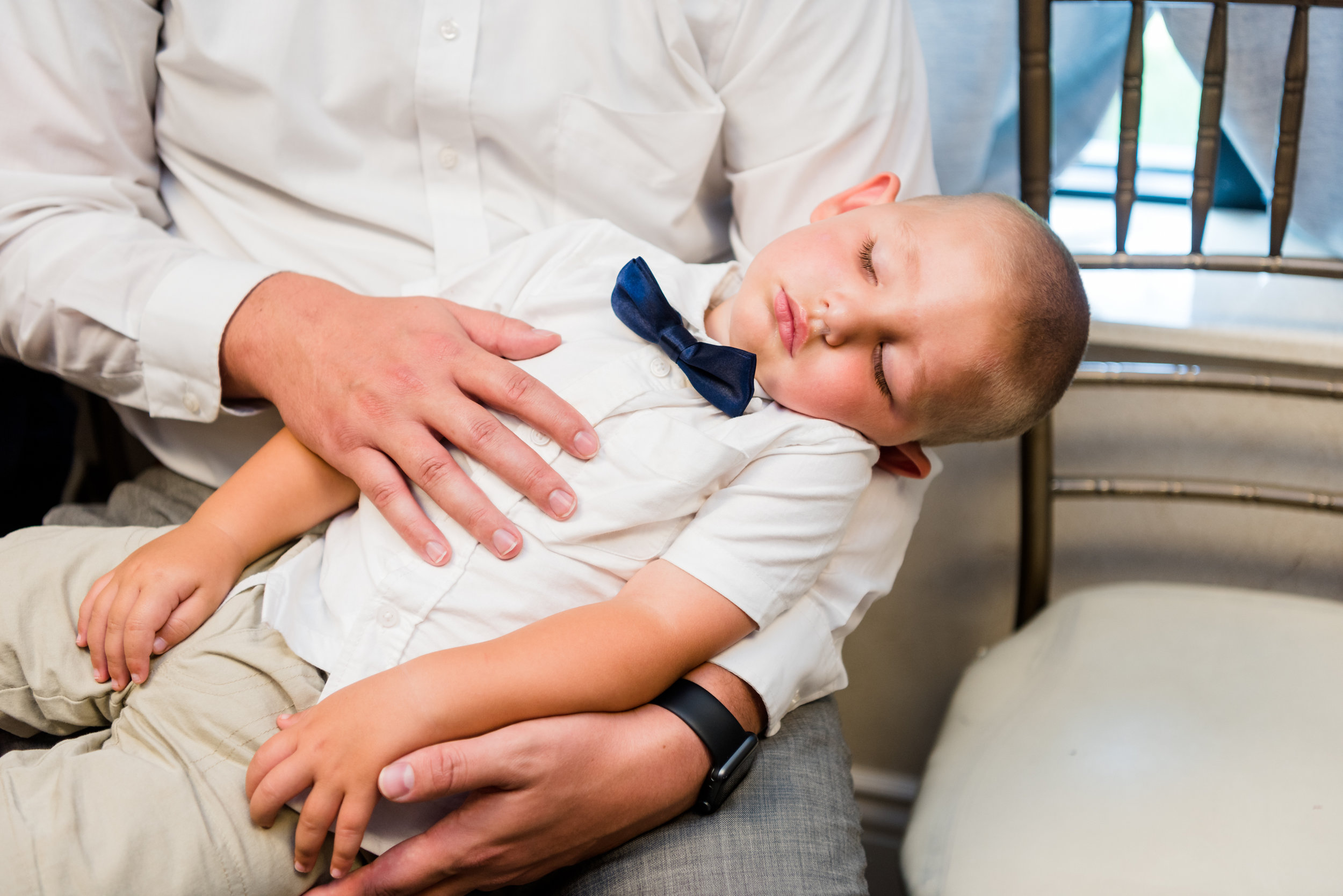 It's exhausting to be a ring bearer.