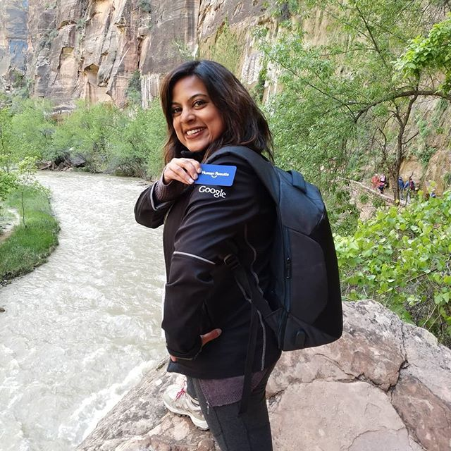 #Repost @swatiddoshi • • • • • My first trip to Zion, in 2014, took place after Co-Facilitating two full days of leadership development for Google Search SRE teams from Zurich and Mountain View.  Their off-site was in Vegas which I'm not a fan of so I posted on FB if anyone wanted to join me in Zion for a few days after the workshop.  My former legalized drug dealing friends, @suzieqofficial and @aliciamaleno signed up and I convinced one of the Zurich SREs to join us too (the more the merrier and it felt safe to have a man on the trails with us!). It was an AMAZING trip thanks to Susan Lasky who knew the area  and all the hikes inside and out.  It felt amazing to be here again 5 years later but as a completely different person... Back then, I had no problem taking on physical challenges (Angel's Landing fully completed!) but I often had to wait for professional challenges to appear and had to ask to seize them as the company got larger.  I saw it go from 10-15k to 75+k - smaller was much more entrepreneurial and more like our clients now; larger, was well much more energy consuming.  I'm glad that I can now take on any challenge/opportunity that presents itself.  The learning, growth, self-development, and relationships built over the past three years have been priceless.  Hopefully, soon, I can retire my favorite Google swag and replace it with Human Results swag!  #humanresultsllc #humanresultsfuelbusinessresults #swatiddoshi #hrconsulting  #performancecoaching #careercoaching #challengeyourself #ifyourenotgrowingyouredying