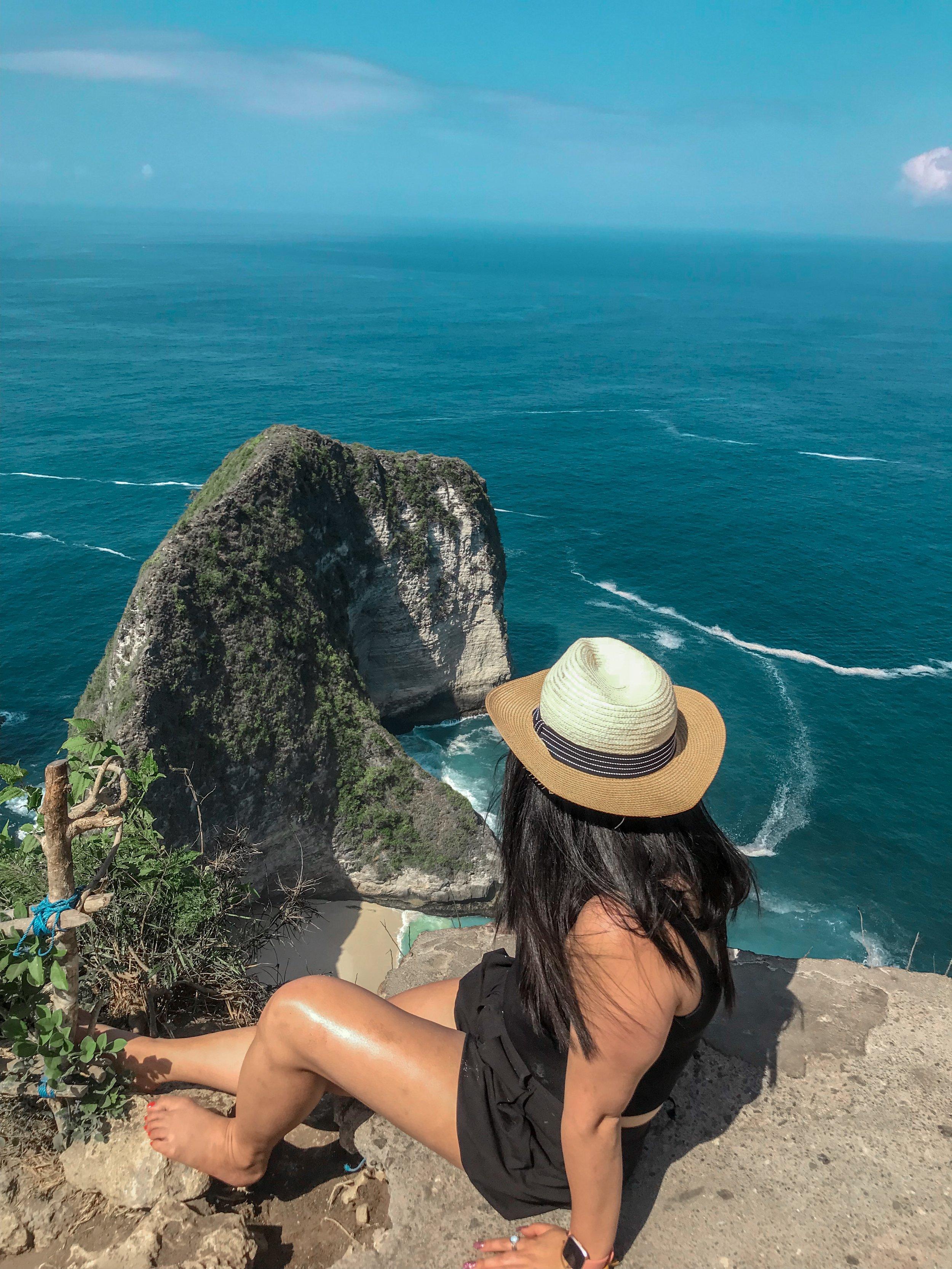 Kelingking Beach, Nusa Penida, October 2018.Ⓒ Not So Basic Life