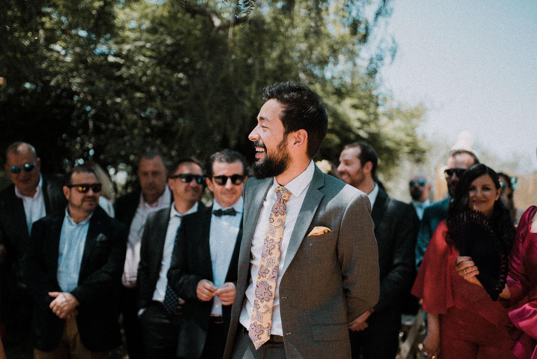 novio esperando novia boda intima sevilla