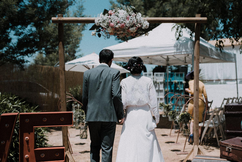 entrada novios boda diferente sevilla