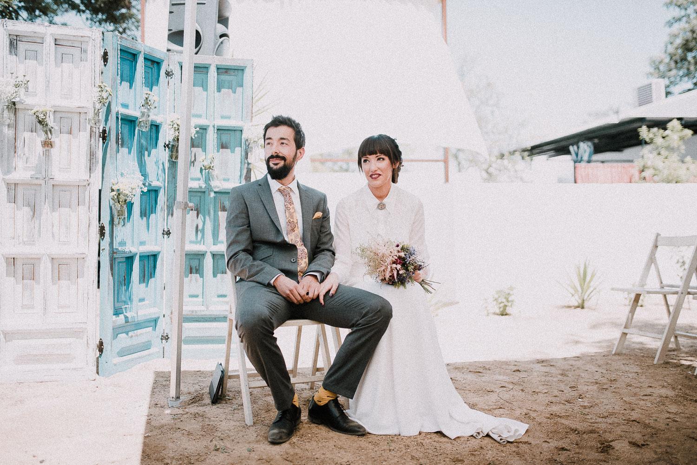 novios ceremonia boda intima sevilla