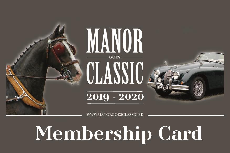Membership card manor