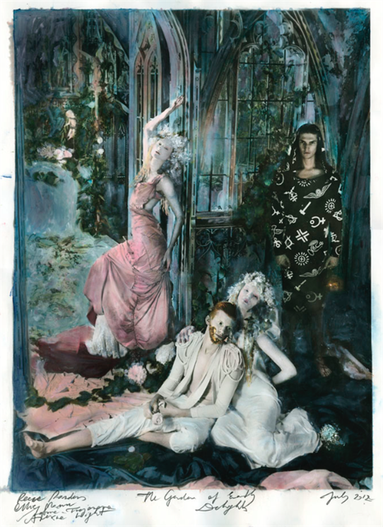Paulina Otylie Surys –  The Garden of Earthly Desires (Heaven) , 2012.