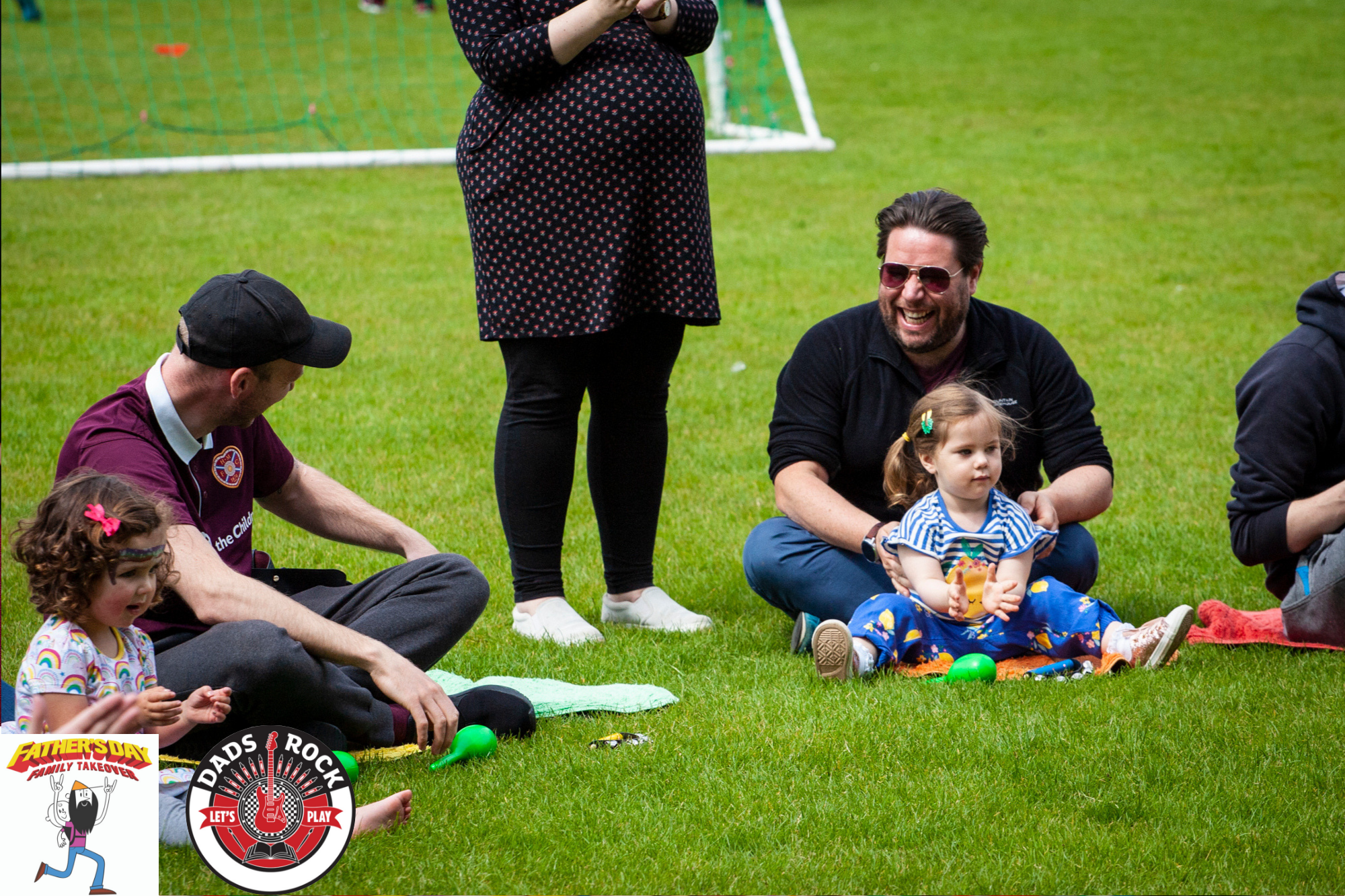 We had plenty of outdoor activities on the community pitch such as music with  Dads Rock Academy  and  Bambino Beats , and a story and song session with Dads Rock.