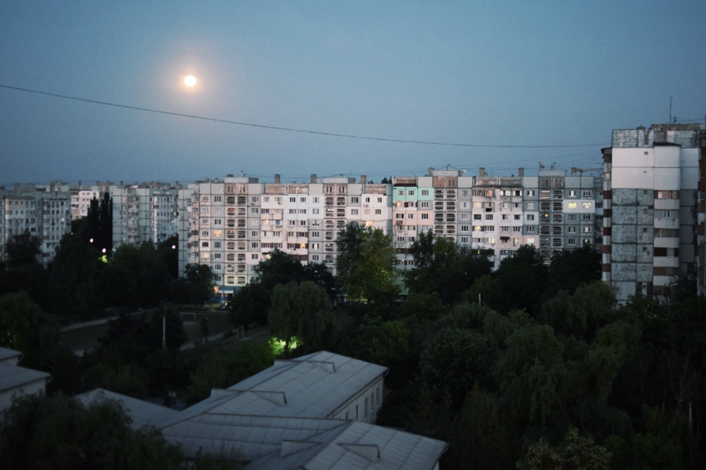 Soviet blocks in Moldova