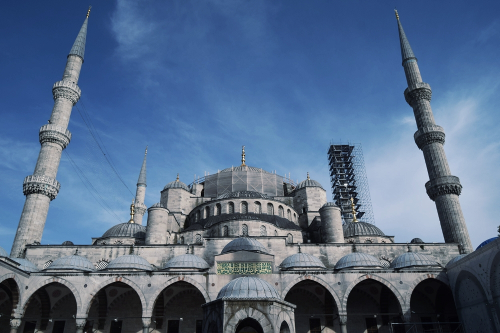 The Blue Mosque of Istanbul - a welcome change to the orthodox churches of eastern Europe
