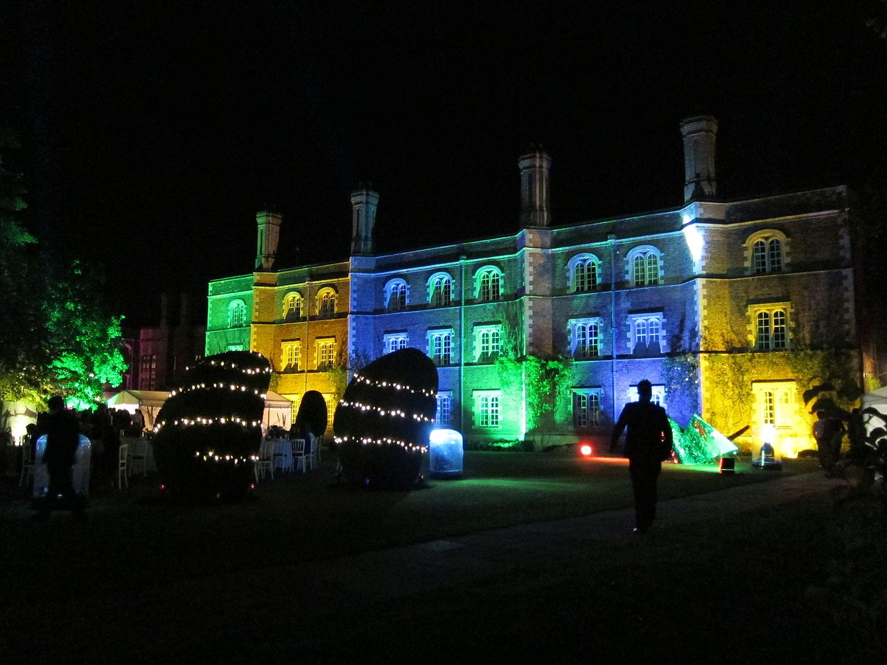 Jesus College's transformation for their annual May ball.