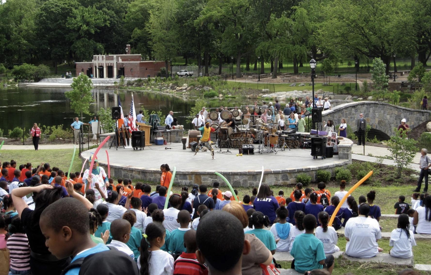 Crotona Park Amphitheater, Bronx, NY