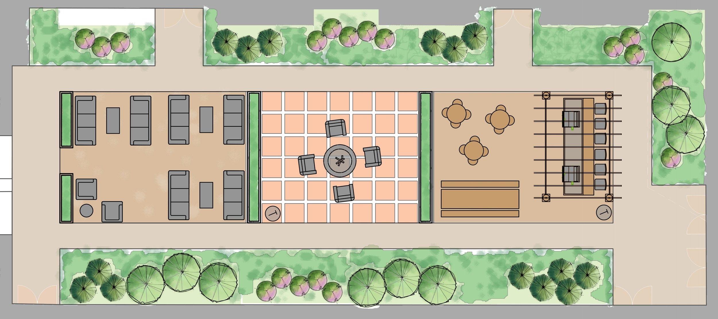 North Courtyard