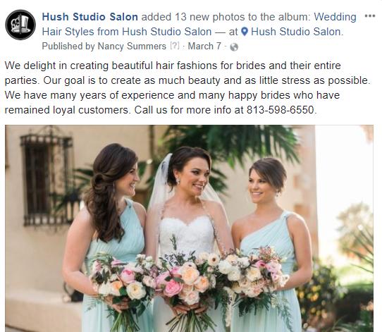 Hush stuido salon facebook.PNG