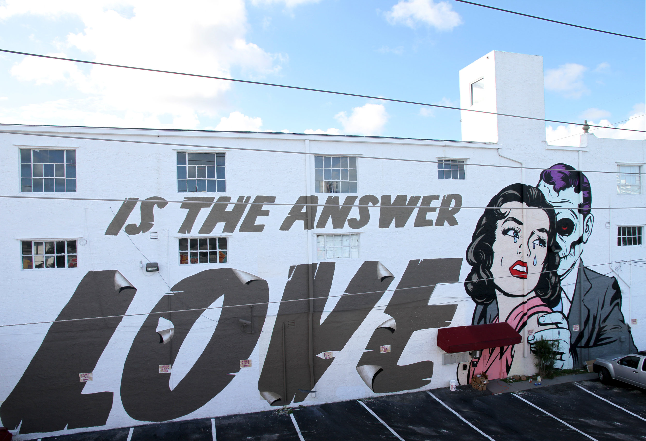Is The Answer LOVE, Miami 2014.jpg