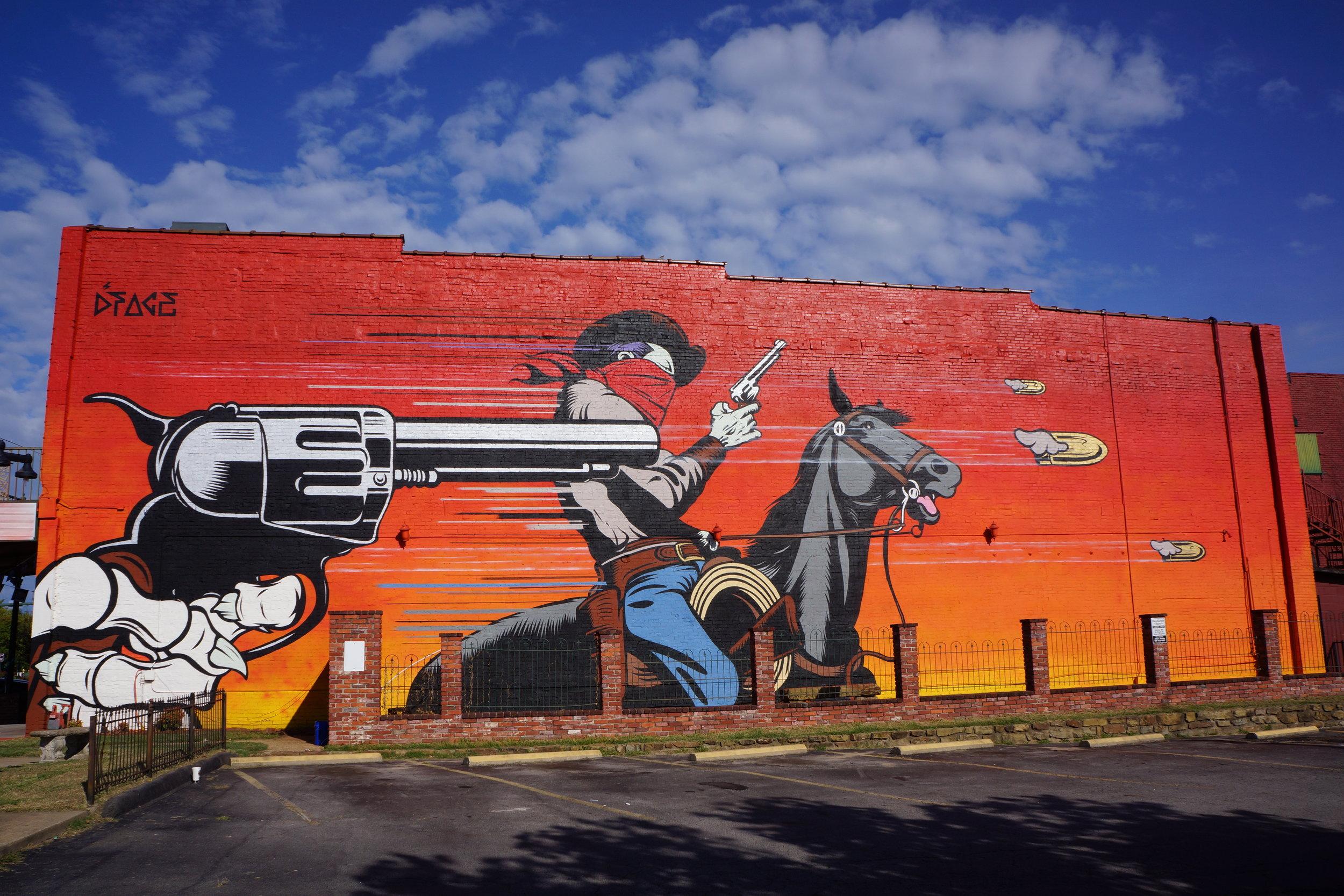 Badlands, Fort Smith 2015.JPG