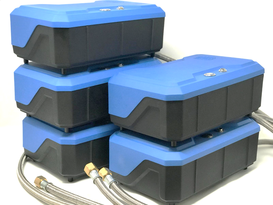 H20 - portable fuel cell boxes