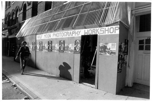 Half Moon Photography Workshop at 121 Roman Road, October 1980 Photo © David Gordon
