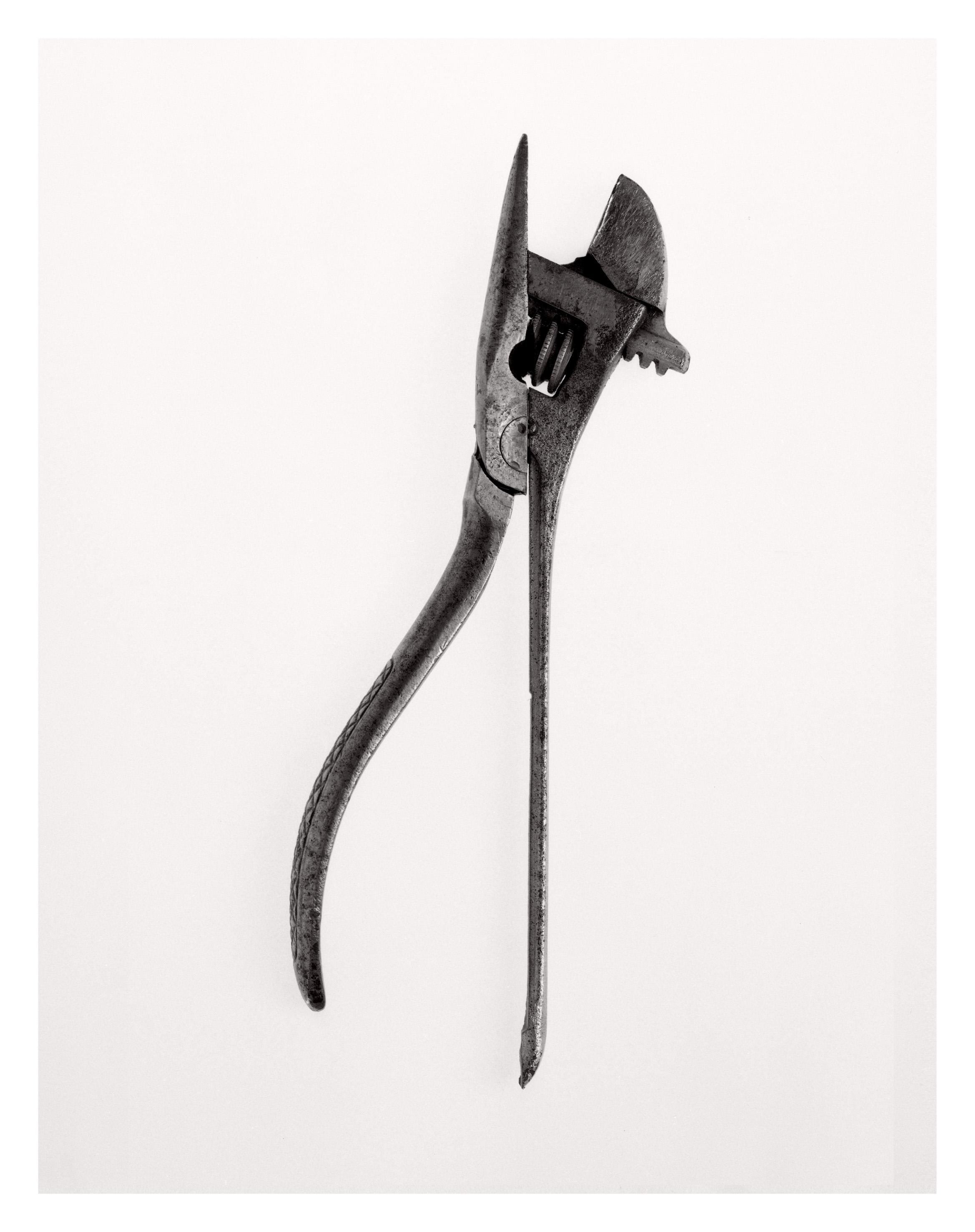 (rephrased) Beauties of the Common Tool, Rephrased 2, Fiber-based handprint, 2013