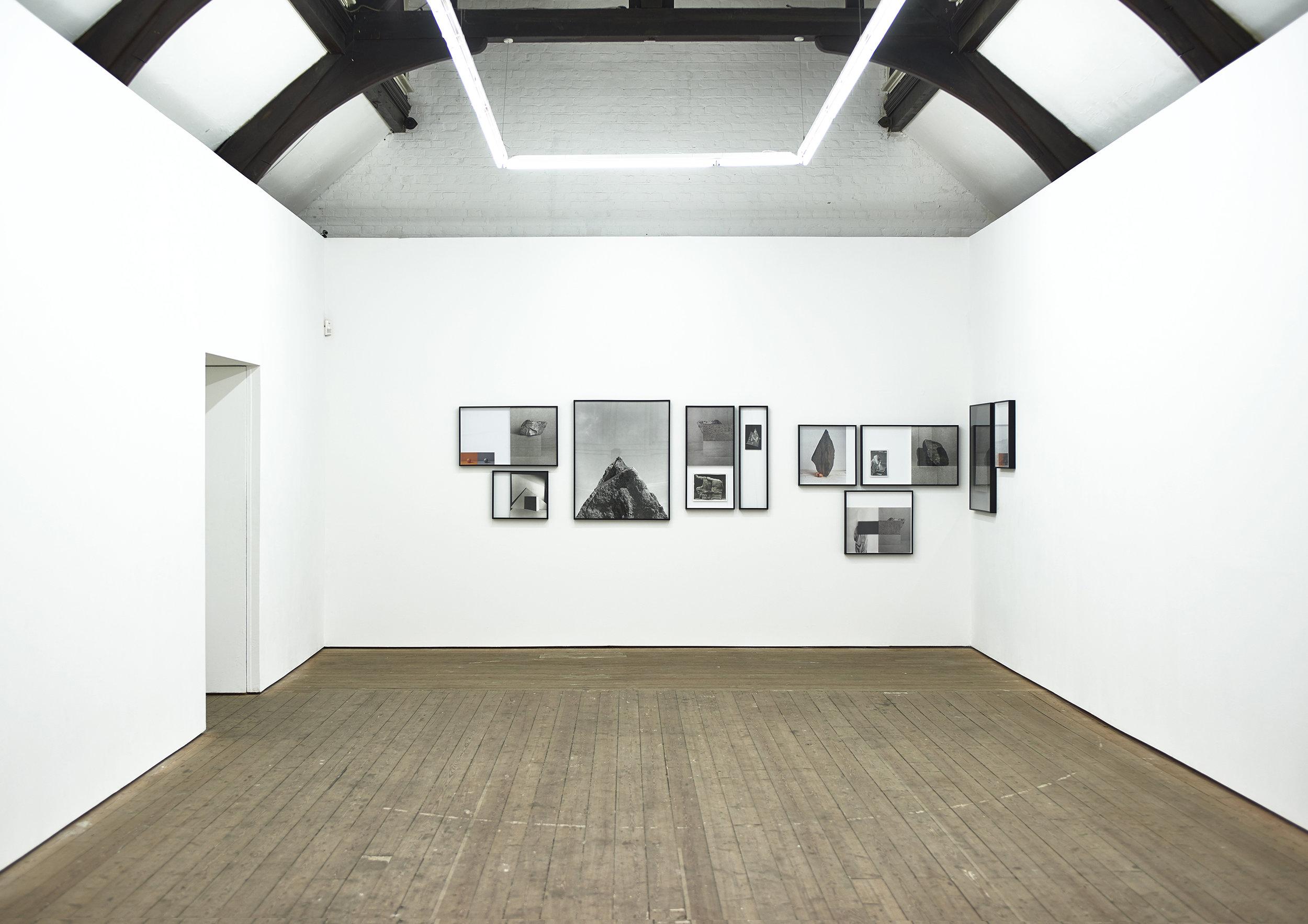 (M17 install 2) Metalepsis, installation view, Copperfield, London, 2017