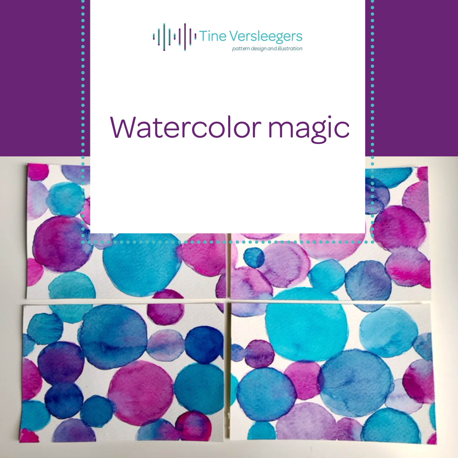 this is watercolor magic!
