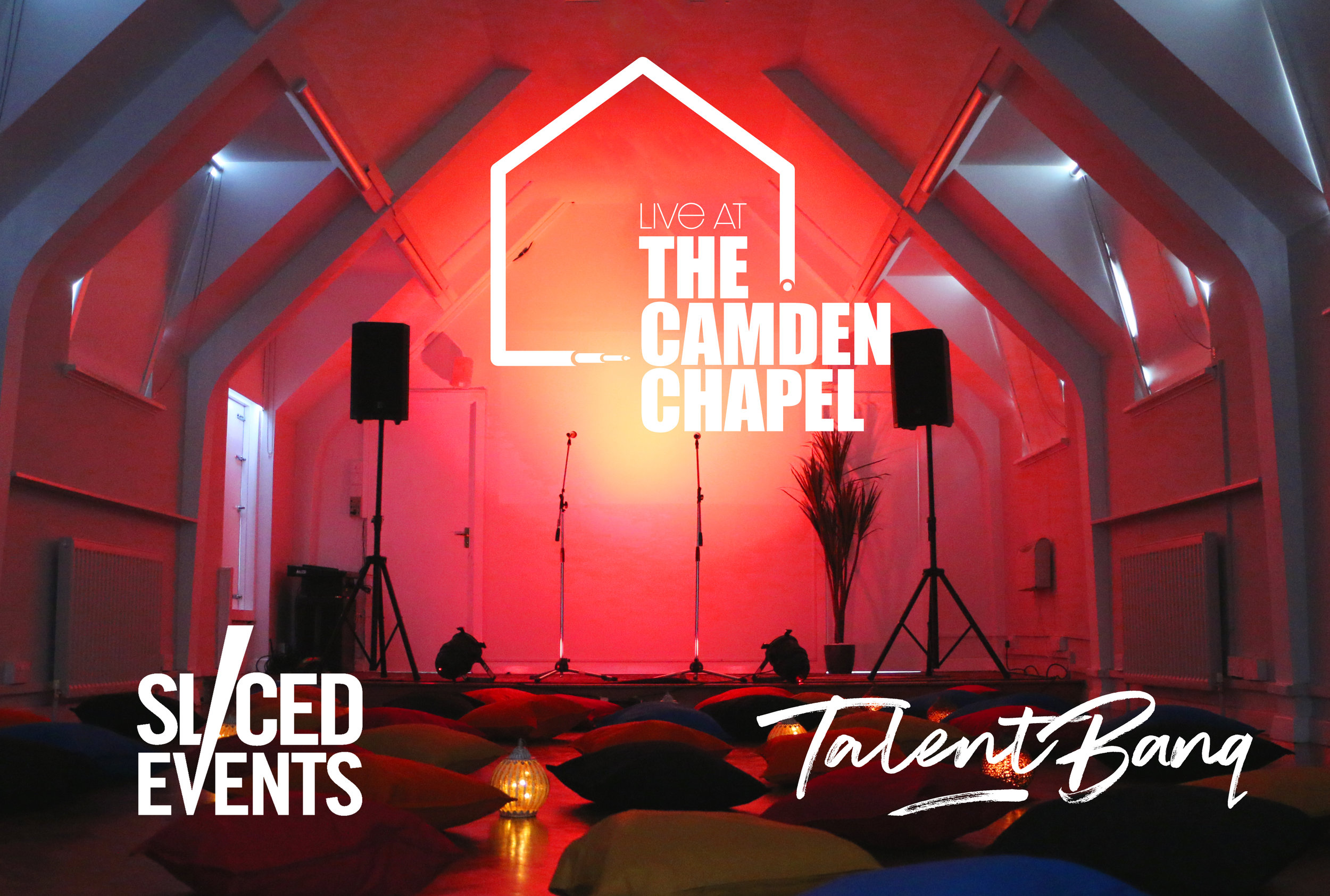 'live at the camden chapel' - talentbanq's new live music venue in north london