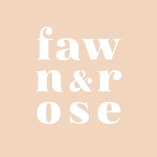 Fawn And Rose   Contemporary jewellery handmade with a variety of responsibly-sourced materials   ETSY SHOP   facebook   instagram