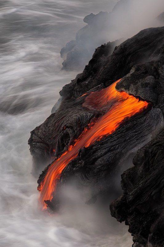 Hawai-on 2 hónapja folyik a láva, Kilauea torkából új föld épül, tanui lehetünk annak hogyan születnek és pusztulnak életterületek Földünkön.