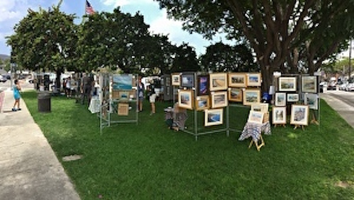 2017 Allied Artists Village Green Art Exhibit and Sale