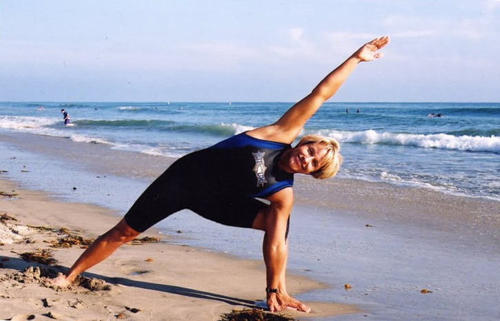 Surf stretches with peggy hall, yoga for surfers