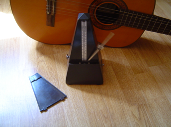 metronome for sight reading guitar