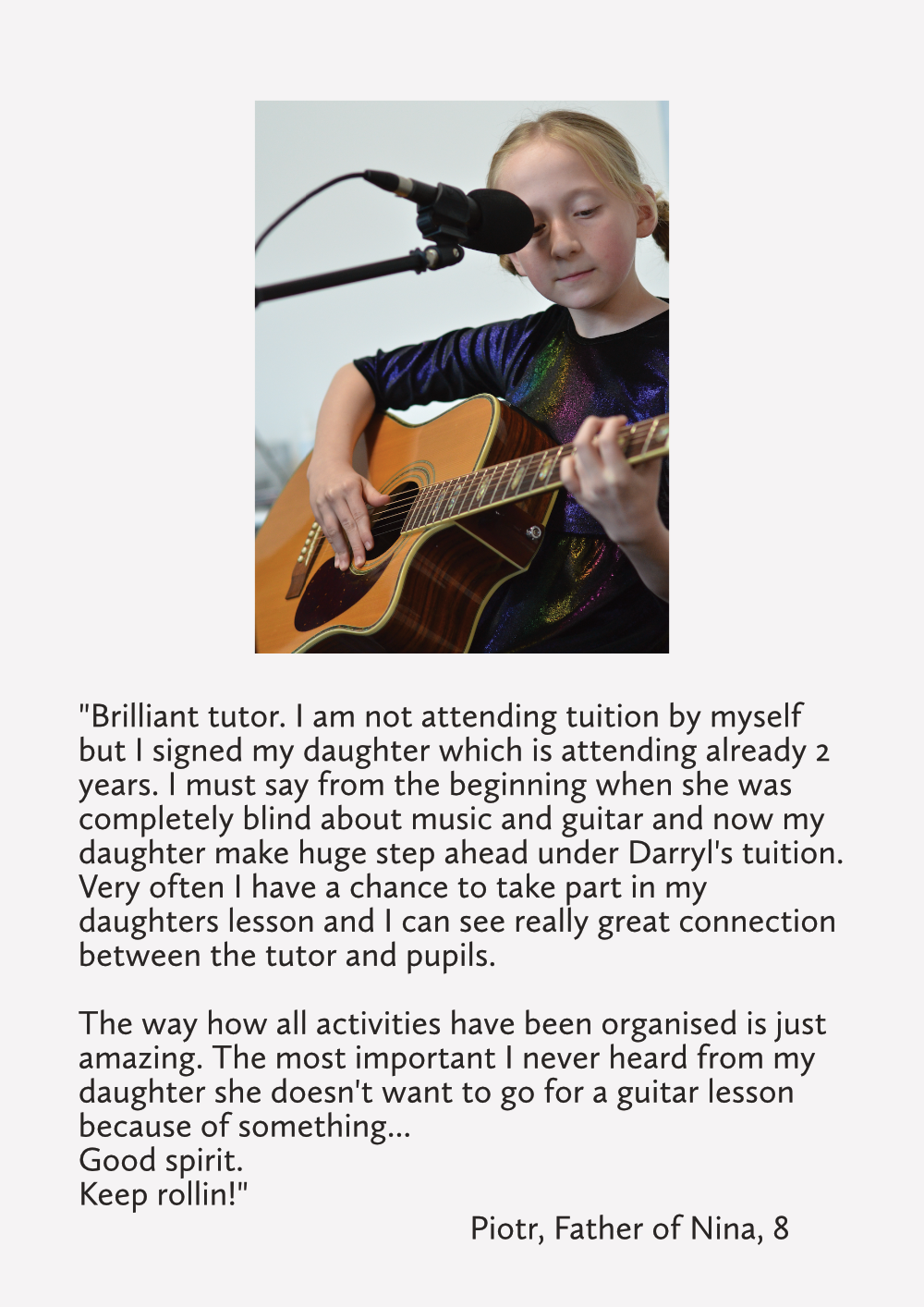 Guitar Tuition East London Review Prices